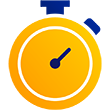 Illustration of a stopwatch.